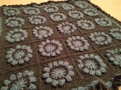 Chunky Crochet Blanket - By Mrs Mogs - Handcrafts
