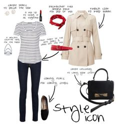 """Style Icon: Classic French Girl"" by slashawaybabe ❤ liked on Polyvore featuring John Lewis, 7 For All Mankind, rag & bone, Steve Madden, ASOS, J.Crew, Kate Spade, Blue Nile, BERRICLE and casual"