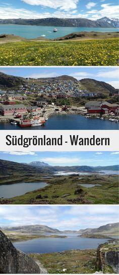Entdecke die wunderschöne Landschaft in Grönland auf einer Wanderung. In diesem Blogpost stellen wir dir zwei schöne Wanderungen in Südgrönland vor, die du auf eigene Faust machen kannst. Startpunkte sind die Orte Quassiarsuk und Qaqortoq. Auf in die Arktis! #grönland #arktis #wandern #südgrönland