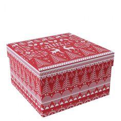 Scandi Large Christmas gift box - All Christmas Wrap - Christmas Wrap - Christmas Shop
