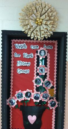 Black History/Valentine's Door!