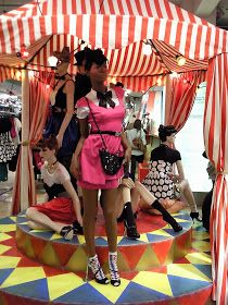 The World of Visual Merchandising: Roll up Roll Up: Circus Feature