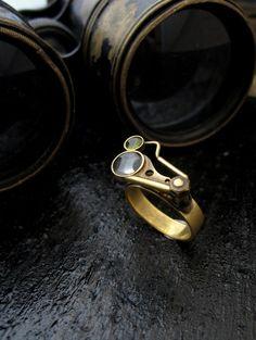Steampunk Jewelry Forêt