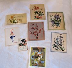 Vintage Cards Notecards Thank You Cards With Envelopes 28 Total