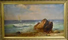 19th C Painting, CHARLES HENRY GIFFORD (1839-1904) : Lot 12 www.JJamesAuctions.com
