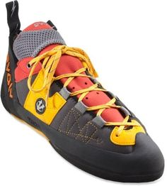 Rock Climbing Shoes. Checked these off my list--as well as a harness, an ATC, a chalk bag, and a nice big bag of chalk. :)
