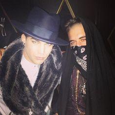 Adam Lambert at Bootsy Bellows - West Hollywood 10-1-13
