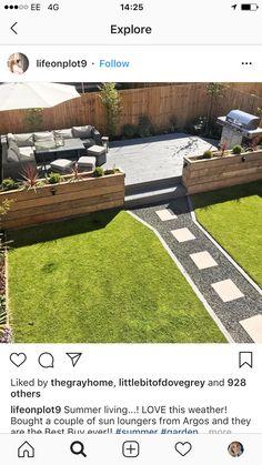 Backyard Garden Design, Argos, Garden Inspiration, Sun Lounger, Stepping Stones, Golf Courses, Home And Garden, Explore, Outdoor Decor