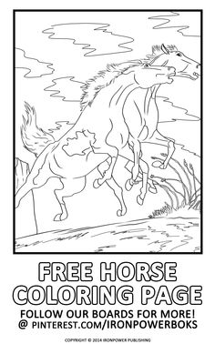 Horse coloring pages  Coloring book  Pinterest  Horse Color
