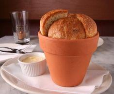 Flower Pot Bread from chef Joseph Ogrodnek.