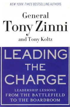 Title: Leading The Charge | Author/Guest: Tony Zinni | Episode 05104 | #Books #ColbertReport