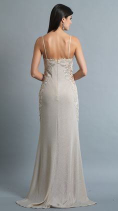 BB1106- In store now. A sheath style gown with stunning lace and beadwork detail along the sweetheart neckline and sides of dress. Bohemian bride this could be the one for you! Come and visit us in Albany Village in our air conditioned, comfortable store. All gowns are available for purchase or hire.