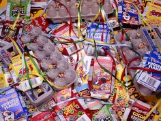 Museum-Worthy Garbage: The Art of Over-Consumption Discover Magazine, Museum, Cereal Boxes, Brown, Art, Photos, Photography, Pictures, Kunst