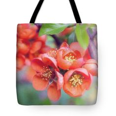 Anna Matveeva Red Flowers Tote Bag featuring the photograph Red Flowers, Greeting Card In Vintage Style by Anna Matveeva