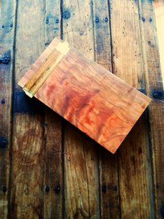 Custom cherry cheese board w/ Vintage Stanley by OutsideTheToolbox
