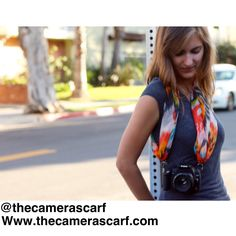 Watch our YouTube tutorial: How to Style & Use our Camera Scarfs  ~ https://youtu.be/KnWdENfHIks   www.thecamerascarf.com