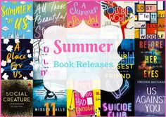 New Summer Book Releases - Serenity You