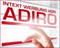 Darf ich vorstellen - Adiro - Monetarisierung durch InText Anzeigen