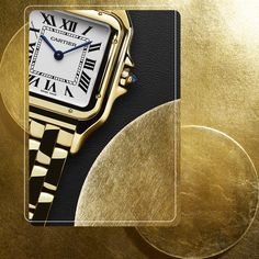 Shimmering style. Panthère de Cartier available in June.