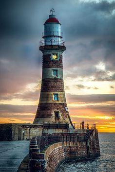 Roker Lighthouse | North East coast England