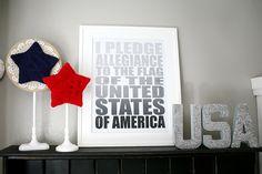 patriotic stars - Eighteen25