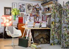 Erdem's east London studio. Photograph: Katherine Rose