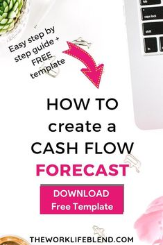 Beginner's Guide: How To Create A Cash Flow Forecast Business Meme, Business Tips, Online Business, Starting A Business, Business Planning, Make Money Blogging, How To Make Money, Financial Regulation, Be Your Own Boss