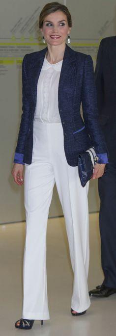 La reina Letizia Clásica y romántica en San Sebastián. 17.06.2016