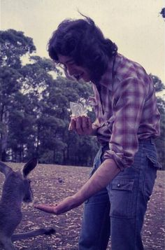 Rory taking time out to meet the locals in Australia, 1975. This was on Rory's first tour of Oceania following dates in Japan. He played Perth, Adelaide, Sydney, Brisbane, Melbourne, Wellington and Auckland.