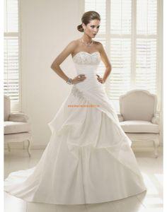 RONALD JOYCE Asymmetrische Designe Brautkleider aus Organza