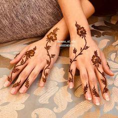 Modern Henna Designs, Indian Henna Designs, Latest Henna Designs, Finger Henna Designs, Henna Art Designs, Mehndi Design Photos, Mehndi Designs For Fingers, Beautiful Henna Designs, Best Mehndi Designs