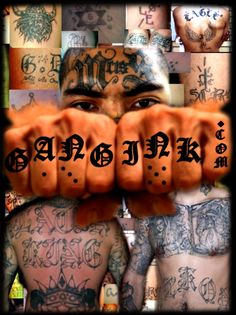 relationship between street gangs and prison