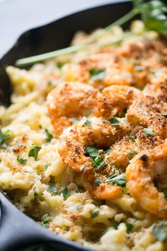 Spicy shrimp cooked with a cajun flair and baked with a creamy blend of cheeses and pasta. lemonsforlulu.com