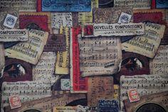 Papier na decoupage, Music