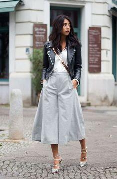 Pantalones culotte: el Street style manda | El Rincón de Moda | Bloglovin'