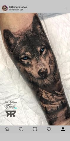 50 of the most beautiful wolf tattoo designs the internet has ever seen - . - 50 of the most beautiful wolf tattoo designs the internet has ever seen – … - Wolf Sleeve, Wolf Tattoo Sleeve, Tattoo Sleeve Designs, Tattoo Designs Men, Sleeve Tattoos, Tattoo Sleeves, Wolf Tattoo Forearm, Forearm Tattoo Design, Tattoo Wolf