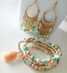 Bracelet Combo Road Bicolors+B.O via ohbonheurdesfilles. Click on the image to see more!