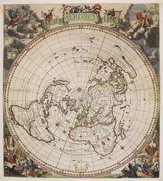 Flat earth map gleasons new standard map of the world large 24 robijn j danckerts c nieuw aerdsch pleyn gumiabroncs Images