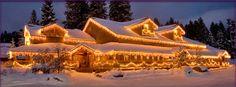 The Pancake and Christmas House, McCall, Idaho