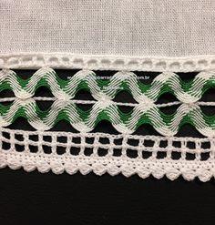 Rick rack with crochet