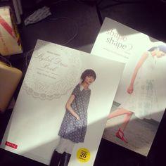 If I'm a good designer and finish my sweater, can I reward myself with a new dress? 72/365. Stylish Dress Book by Yoshiko Tsukiori & Shape Shape 2 by Natsuno Hiraiwa