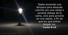 Lucas 8:16