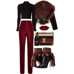 A fashion look from January 2016 featuring Rosetta Getty t-shirts, J. Mendel jackets and Rosie Assoulin pants. Browse and shop related looks.