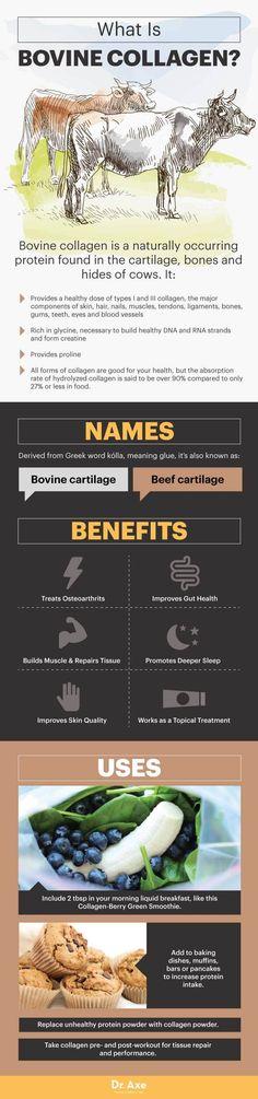 Bovine collagen - Dr. Axe.