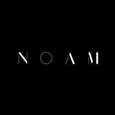 Noam by Graphical House. #logo #branding #design: