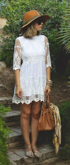Luv to Look | Curating Fashion & Style: Spring fashion | White lace dress