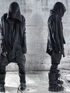 mens fashion tips Cyberpunk Mode, Cyberpunk Fashion, Dark Fashion, Urban Fashion, Mens Fashion, Mode Masculine, Street Outfit, Street Wear, Street Clothes