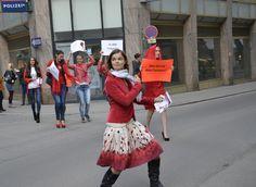 #erdbeerwoche in action in Vienna!   Meine Regel. Mein Planet. Cheer Skirts, Fashion, Strawberries, Moda, La Mode, Fasion, Fashion Models, Trendy Fashion