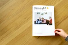 NürnbergStift, Imagebroschüre ► Kunde: NürnbergStift, Jahr: 2010, Tags: Print, Editorial.