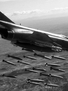 F-4 Bomb Run Vietnam.